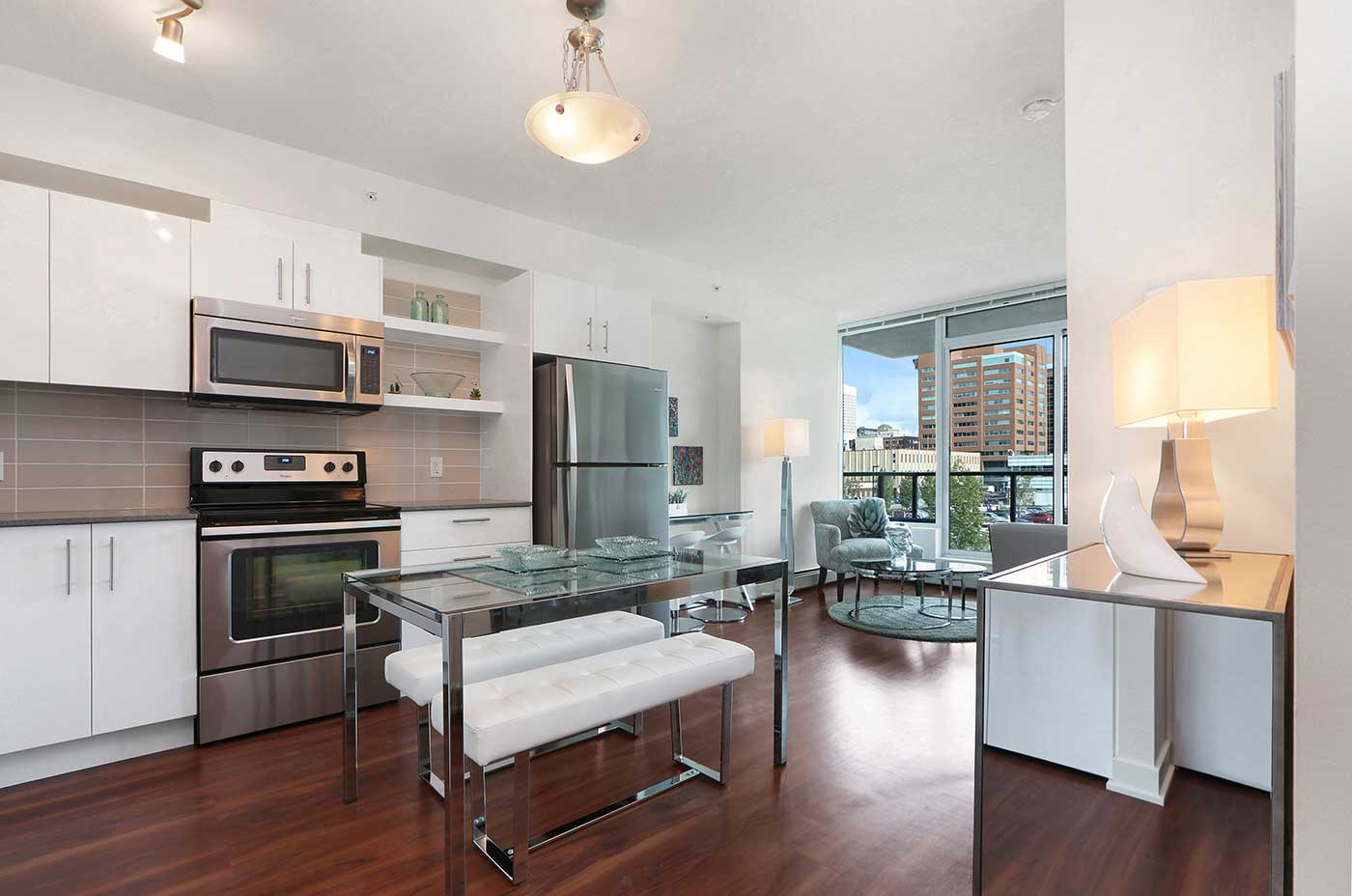 1215 Rental Apartments - One bedroom L2 Kitchen view