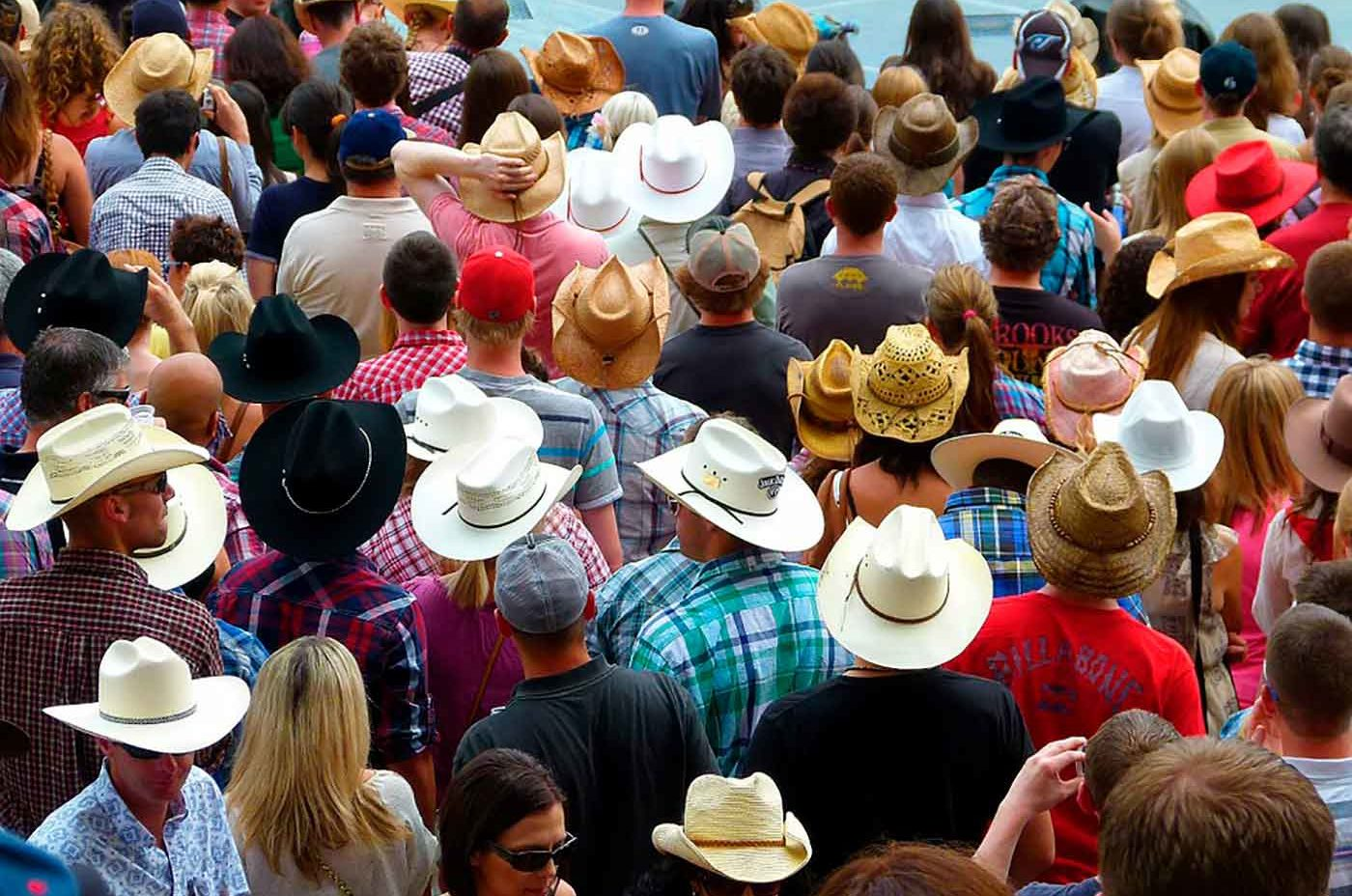 Calgary Stampede crowd